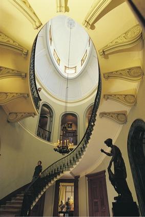 Interior of historic Elizabeth Bay House, Elizabeth Bay.