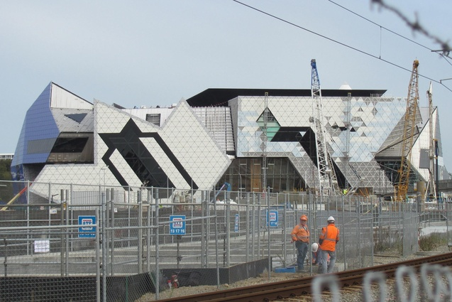 Perth Arena by ARM and CCN.