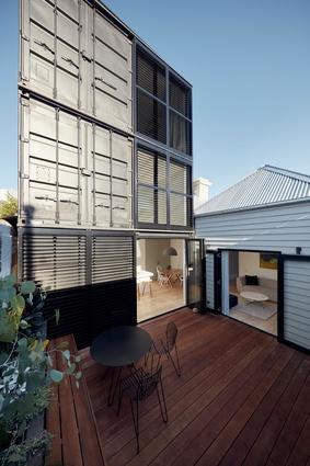 Blanche Street by Nixon Tulloch Fortey Architecture.