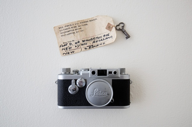 "Leica camera: ""This belonged to my grandfather who captured our childhood on it and processed each image by hand. It now has pride of place in my kitchen."""