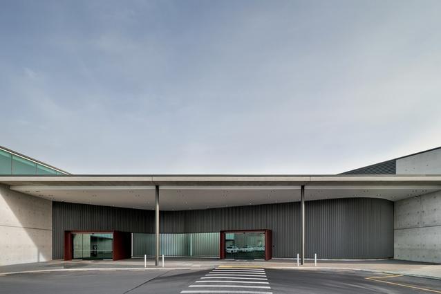 Regional Terminal at Christchurch Airport by BVN Donovan Hill.