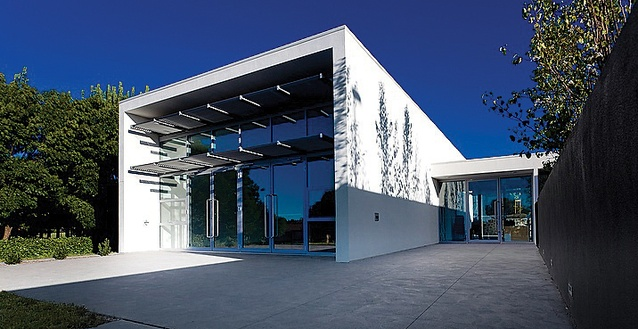 Bonython Community Hall by Collins Caddaye Architects.