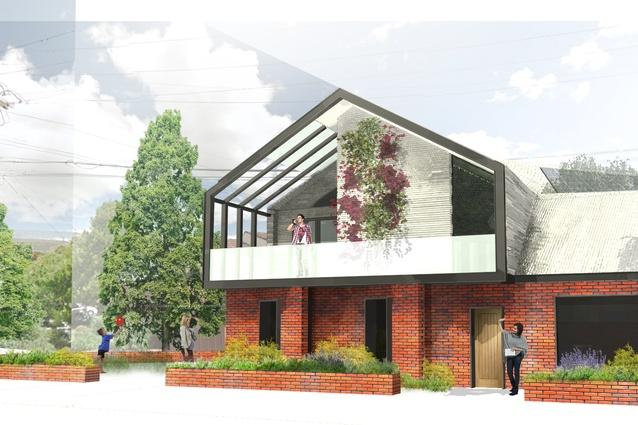 Manor houses runner up: Kieran Ward, graduate architect.