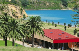 Newly transformed Rotoroa Island Visitor Centre