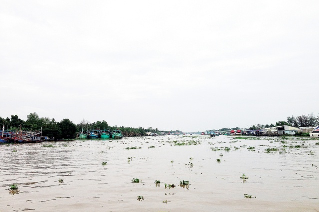 The effect of aquaculture farming in the delta is detrimental to a long-term rice crop, critical to the economy within this region of Vietnam.