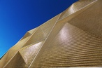 Kaynemaile's Building-Armour mesh gives Lower Hutt's Ideal Electrical building a stunning new facade