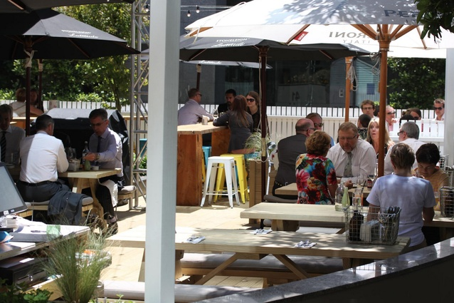 The Hamptons: A new pop-up, summer-only venue in the CBD business district. 41 Shortland Street. Open Mon – Sat: 11am – 10.30pm.