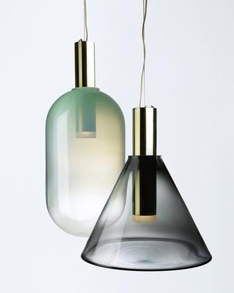Phenomena lamps by Dechem Studio for Bomma Lighting.