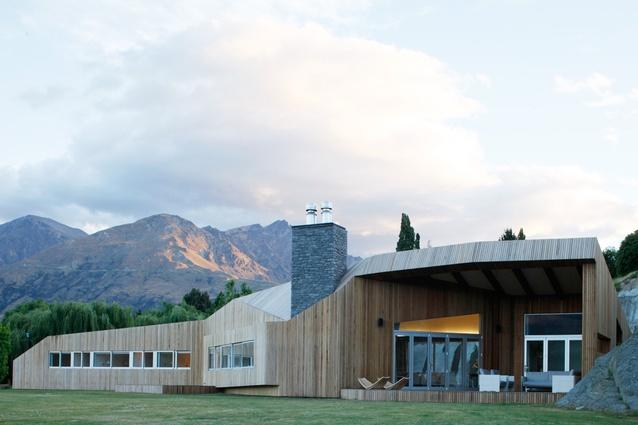 The Thom Craig-designed house.