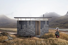 Australians design pop-up glamping cabin in Wales