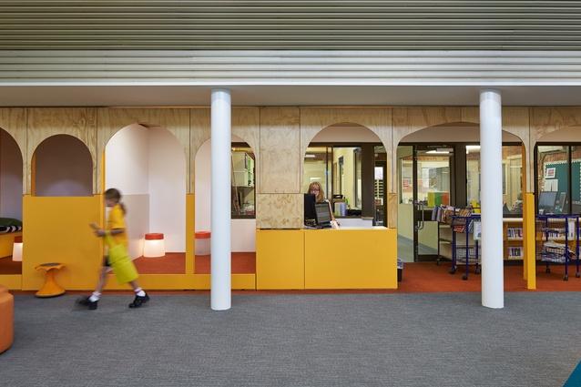 St Stephen's School Junior School Library - Duncraig Campus by Coda Studio.