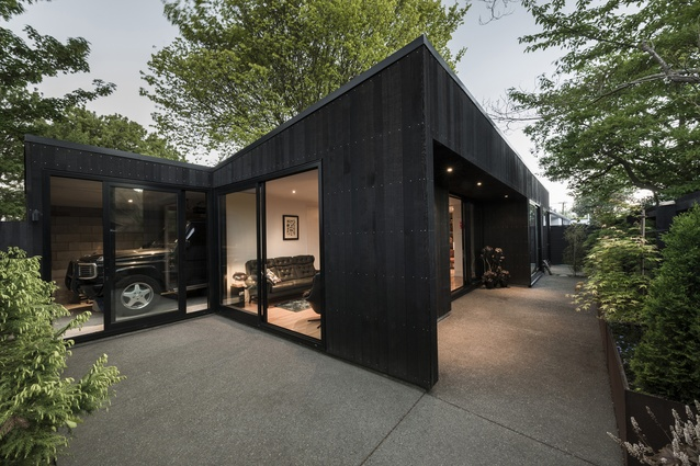 Small Project Architecture Award: Bachelor Pad by Colab Architecture.