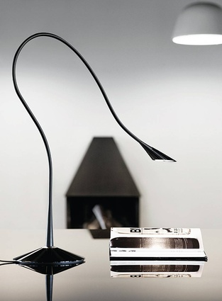 The Nosy T lamp, manufactured by Lightyears and designed with Thomas Sigsgaard.