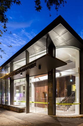 The East Sydney Community Centre by Lahznimmo Architects.