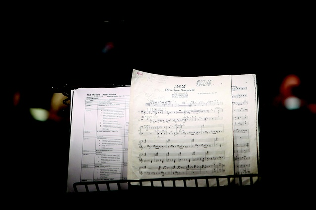 Annotated score to Tchaikovsky's 1812 Overture.