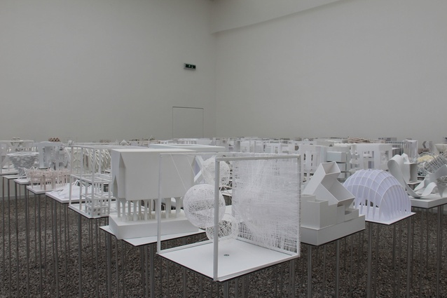 Hungarian pavilion at the 2012 Venice Architecture Biennale.