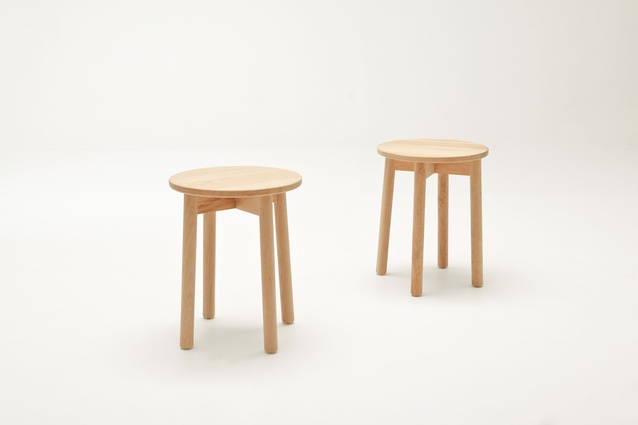 Fable stool by Ross Didier.