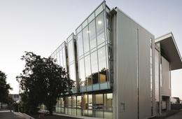 Multi-storey media and arts building