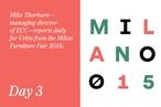 Milan Furniture Fair 2015: Day 3