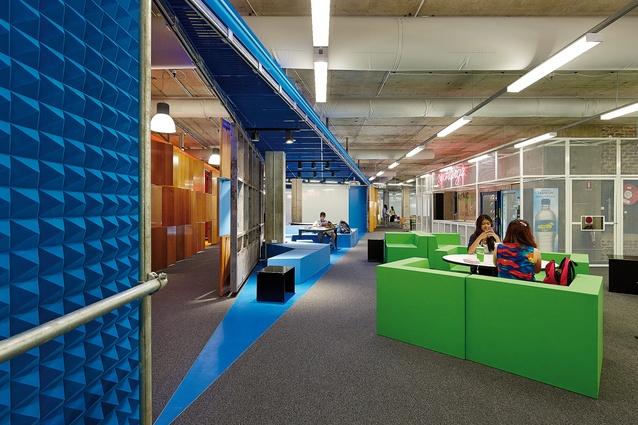 Unconventional Classroom Design ~ Agitated space muse architectureau