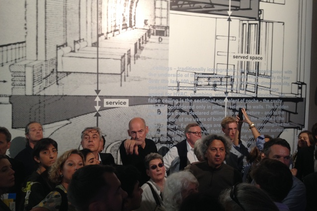 Rem Koolhaas at <em>Elements</em>, Venice 2014.