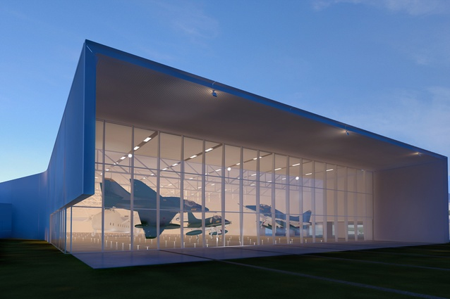 Completion date – December 2012. Wigram Airforce Museum by Warren & Mahoney, 45 Harvard Ave, Wigram. The extension for a Display Gallery for Aircraft and Workshop Spaces will double the size of the museum. Visitors will be able to observe museum staff restoring aircraft.