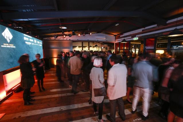 Interior Awards networking.