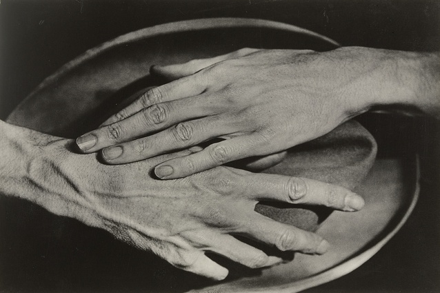 <i>Hands of Jean Cocteau</i>, 1927. Karen Walker bought this photograph - her favourite of Abbott's work - during a trip to New York City earlier this year.