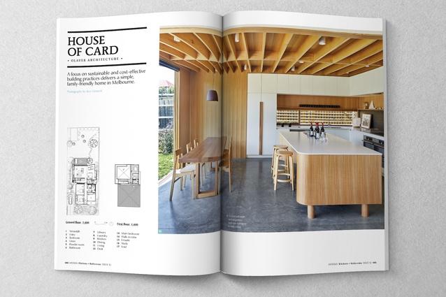 Kitchen by Olaver Architecture.