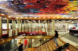 QUT Kelvin Grove Library by Peddle Thorp Architects and James Cubitt Architects