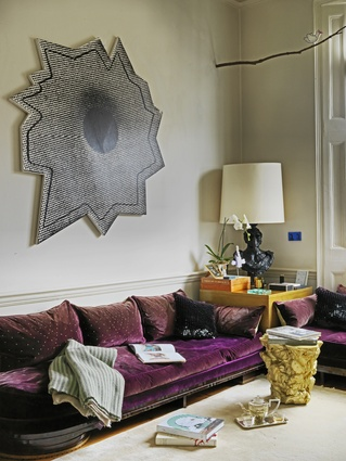 A Eugene Printz sofa.