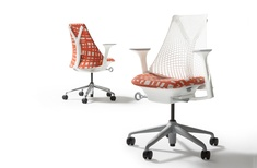 Sayl chair in Ritual fabric