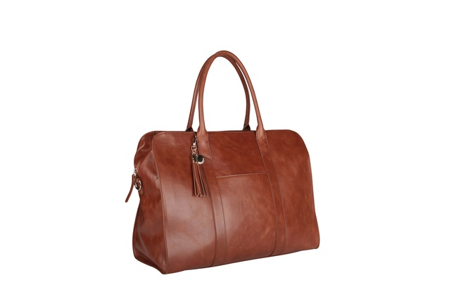 Arlington Milne: Sofia travel bag in tan 