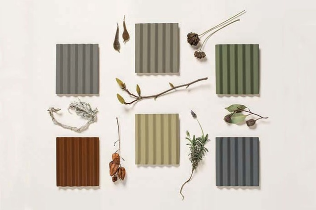 The six new colours for Colorbond Steel.