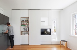 Tetris play: Darlinghurst apartment