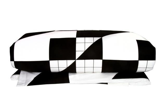 Design Ministry duvet cover in Cross Grid print.