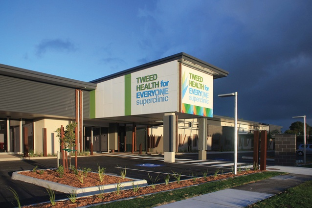Tweed Health for Everyone GP Super Clinic by Fulton Trotter Architects.