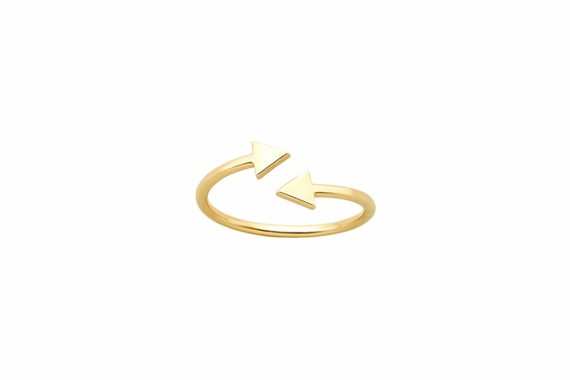 Celestial Arrows Ring in Gold 