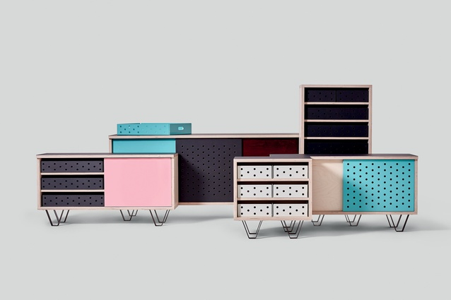 Design Junction: 'Sled' sideboards and drawer units by Very Good & Proper.