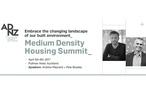 ADNZ Medium Density Housing Summit