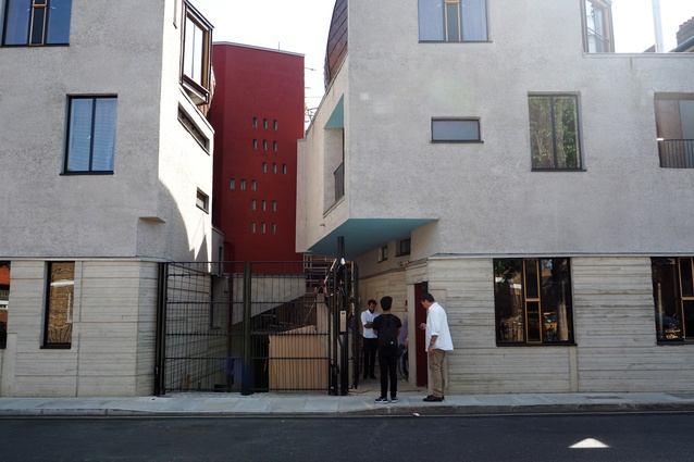 The exterior of Walmer Yard townhouses by Peter Salter.