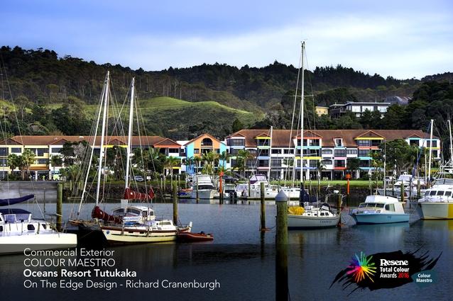 Commercial Exterior Maestro Award winner: Oceans Resort, Tutukaka by Richard Cranenburgh of On the Edge Design.