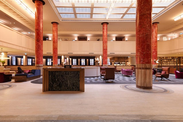 Primus Hotel by Woods Bagot & GBA Heritage.