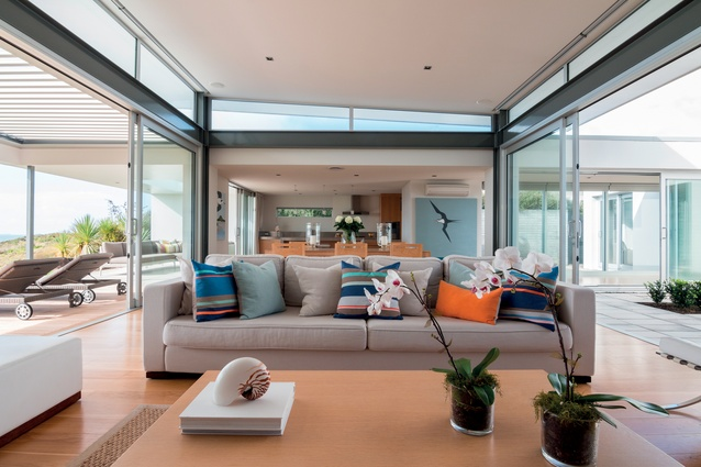 Mount Maunganui House by Rogan Nash Architects.