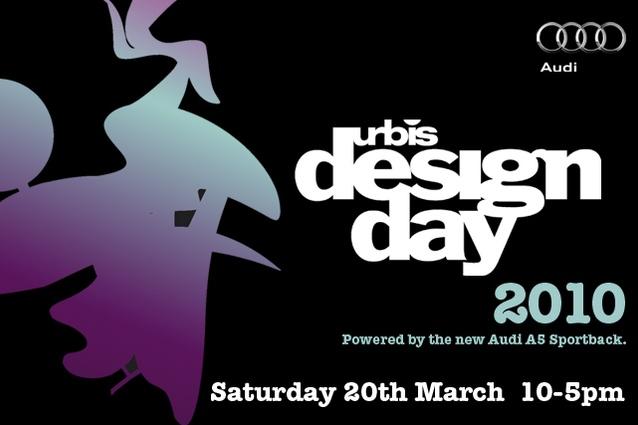Urbis Designday® 2010 branding.