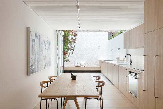 Monastic modesty: Surry Hills House