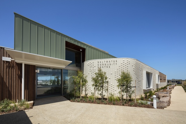 Saltwater Community Centre by Croxon Ramsay Architects.