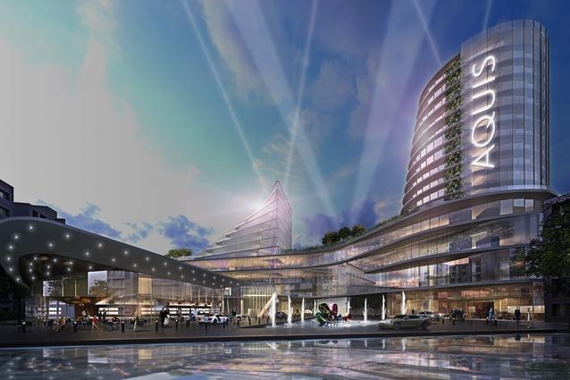 Cox architecture to design canberra casino architectureau for Cox architecture