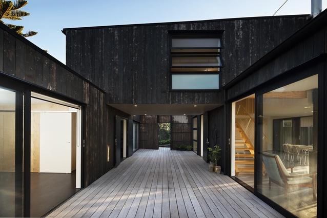 Housing Award: Harakeke by Geoff Fletcher Architects.