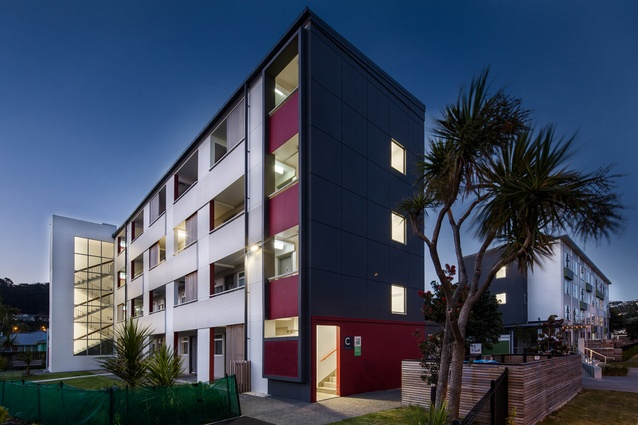 Housing – Multi Unit winner: Kotuku Flats Upgrade by Opus Architecture.